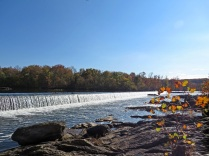 Spillway above the falls
