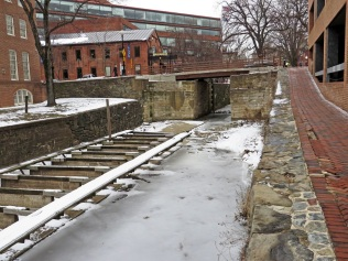 30th Street and Lock 3 on the C&O Canal.