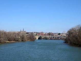 Key Bridge and the Georgetown skyline