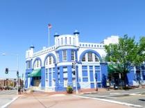 """""""Blue Castle,"""" the Navy Yard Car Barn"""