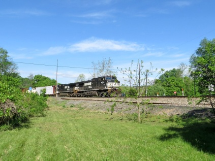 Norfolk Southern passing through