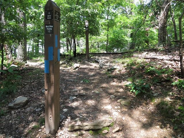 Entrance to White Rocks area