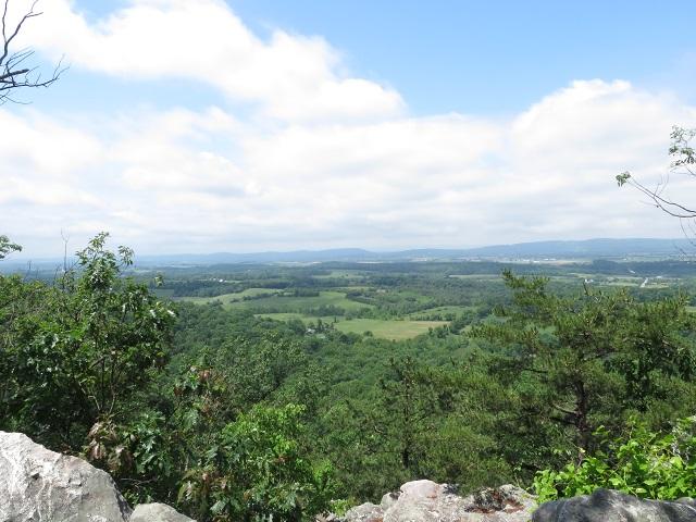White Rocks, west view