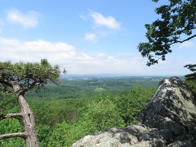 White Rocks, north view