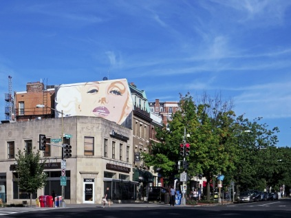 Marilyn at Calvert and Connecticut