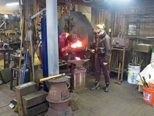 Inside the forge