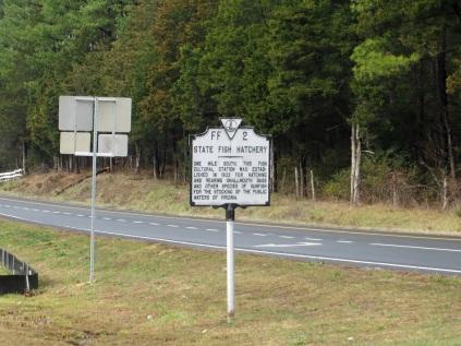 State Fish Hatchery historical marker