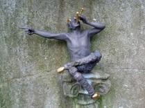 A satyr in Dunbarton Oaks