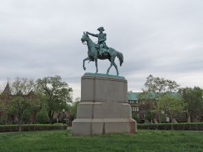 Statue of General Nathanael Greene, in Stanton Park