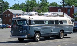 A restored 1951 FlxBus