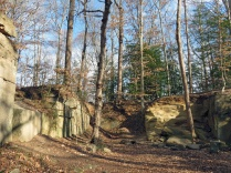 Quarry at Government Island